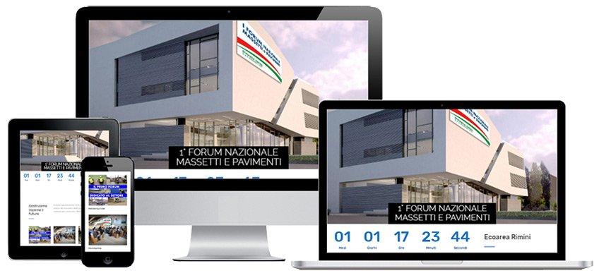 Portfolio Web Realizzazione Siti Internet Forlì | Massetti e Pavimenti
