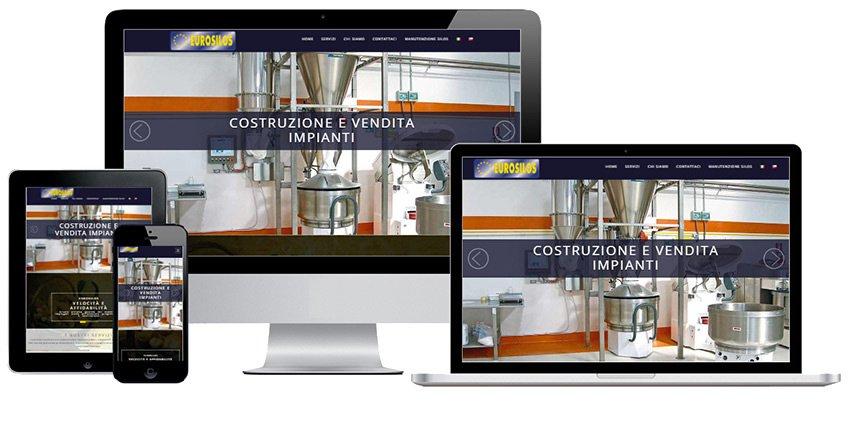 Portfolio Web Realizzazione Siti Internet Forlì | Eurosilos