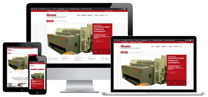 Portfolio Web Realizzazione Siti Internet Forlì | Resta srl