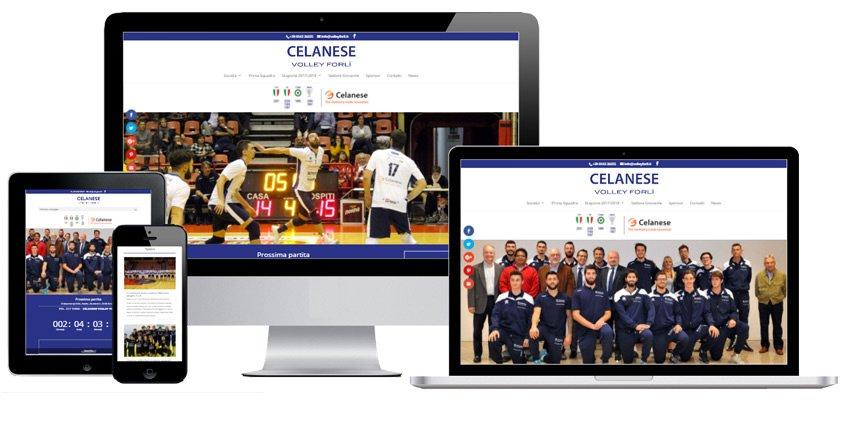 Portfolio Web Realizzazione Siti Internet Forlì | Volley Forlì