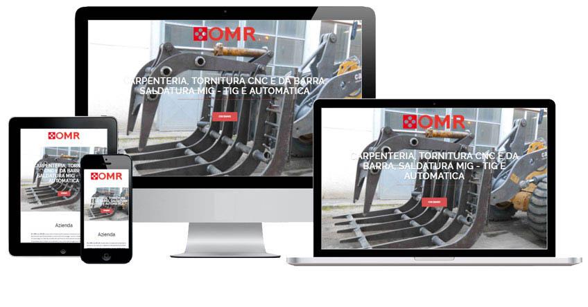 Portfolio Web Realizzazione Siti Internet Forlì | OMR Faenza