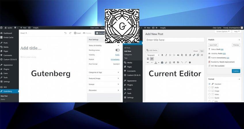 Gutenberg il nuovo editor WordPress