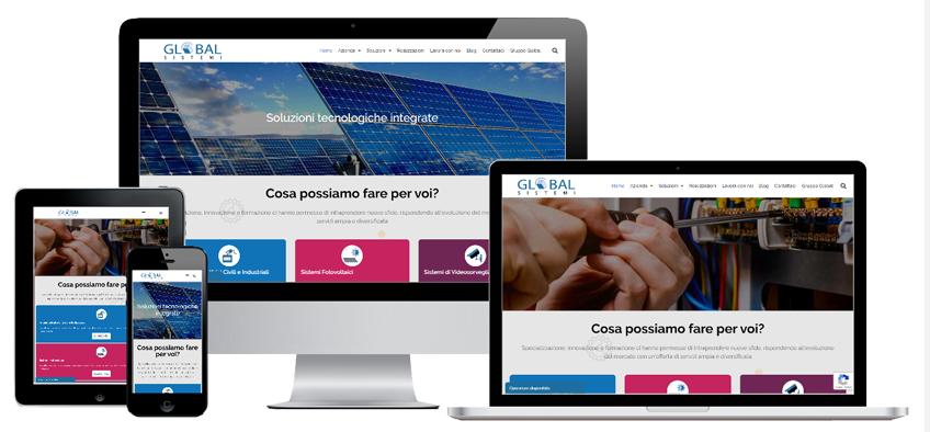 Portfolio Web Realizzazione Siti Internet Forlì | Global Sistemi Srl