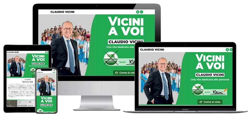 Portfolio Web Realizzazione Siti Internet Forlì | Landing Claudio Vicini