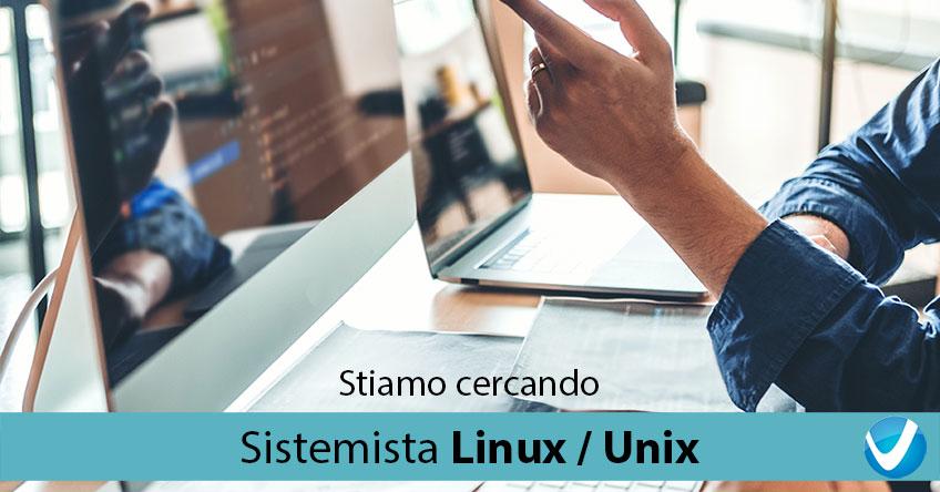 Sistemista Linux / Unix