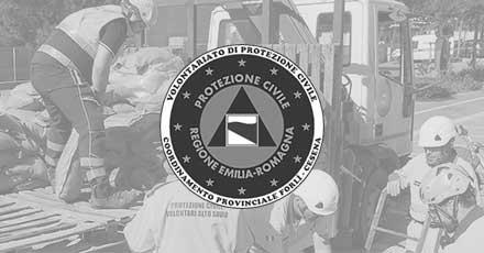 Portfolio Web Realizzazione Siti Internet Forlì | Coordinamento Provinciale del Volontariato di Protezione Civile di Forlì-Cesena