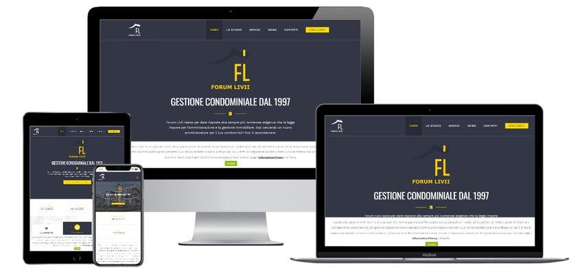 Portfolio Web Realizzazione Siti Internet Forlì | Forum Livii Soc. Coop.